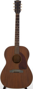 Musical Instruments:Acoustic Guitars, Mid 1960s Gibson LG-0 Natural Acoustic Guitar, Serial # 101086....