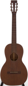Musical Instruments:Acoustic Guitars, 1930 Martin 215H Natural Acoustic Electric Guitar, Serial #40962....