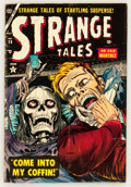 Golden Age (1938-1955):Horror, Strange Tales #28 (Atlas, 1954) Condition: VG....
