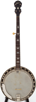 1940s Gibson RB-100 Brown Stain 5-Banjo, #87-5