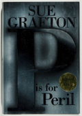 Books:Mystery & Detective Fiction, Sue Grafton. SIGNED. P is for Peril. New York: G. P. Putnam's Sons,2001. First edition. Signed by the author on the flyle...