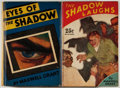 "Books:Mystery & Detective Fiction, Maxwell Grant [pseudonym of Walter B. Gibson]. Two First Edition""Shadow"" Novels, including: Eyes of the Shadow [a... (Total:2 Items)"