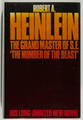 Books:Science Fiction & Fantasy, [Jerry Weist]. Robert A. Heinlein. The Number of the Beast. London: New English Library, 1980. First English edi...