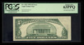 Error Notes:Foldovers, Fr. 1532 $5 1953 Legal Tender Note. PCGS Choice New 63PPQ.. ...