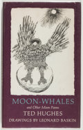 Books:Literature 1900-up, Ted Hughes. SIGNED. Moon-Whales and Other Moon Poems. NewYork: The Viking Press, 1976. First edition. Signed by t...