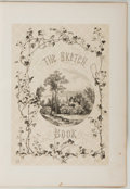 Books:Literature Pre-1900, [Washington Irving]. The Sketch Book of Geoffrey Crayon, Gent. New York: Putnam, 1864. Artist's Edition. Quarto....