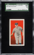 Baseball Cards:Singles (Pre-1930), 1910 E96 Philadelphia Caramel Nap Rucker SGC 84 NM 7 - Pop One,None Higher! ...