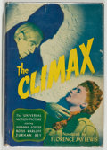 Books:Fiction, [Photoplay Edition]. Florence Jay Lewis. The Climax. NewYork: Books Inc. Photoplay edition. Octavo. 244 pages. ...