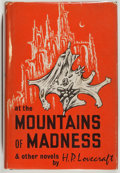 Books:Horror & Supernatural, H. P. Lovecraft. At the Mountains of Madness and OtherNovels. Sauk City: Arkham House Publishers, 1964. Second ...