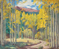 Paintings, CHARLES H. REYNOLDS (American, 1902-1963). Autumn Landscape. Oil on canvas . 36 x 30 inches (91.4 x 76.2 cm). Signed low...