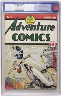 Golden Age (1938-1955):Superhero, Adventure Comics #41 Mile High pedigree (DC, 1939) CGC NM+ 9.6 Off-white to white pages. This is the only copy of the issue ...