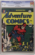 Golden Age (1938-1955):Superhero, Adventure Comics #73 (DC, 1942) CGC NM- 9.2 Off-white to white pages. As the finest known copy of one of Overstreet's 100 mo...