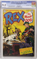 """Golden Age (1938-1955):Miscellaneous, Adventures of Rex the Wonder Dog #4 Davis Crippen (""""D"""" Copy) pedigree (DC, 1952) CGC NM- 9.2 Off-white pages. This is the on..."""