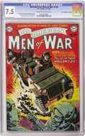 "Golden Age (1938-1955):War, All-American Men of War #128 Davis Crippen (""D"" Copy) pedigree (DC,1952) CGC VF- 7.5 Cream to off-white pages. This is the ..."