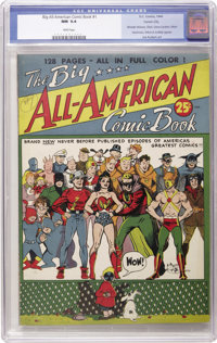 Big All-American Comic Book #1 Carson City pedigree (DC, 1944) CGC NM 9.4 White pages. We consider ourselves fortunate t...