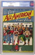 Golden Age (1938-1955):Superhero, Big All-American Comic Book #1 (DC, 1944) CGC VF 8.0 Off-white pages. The giant (128 pages, not counting the covers) squareb...