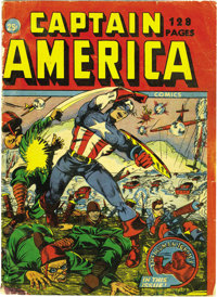 Captain America Comics 132-Page Canadian Annual (Timely, 1942) Condition: PR. One of the rarest Timely comics, this is a...