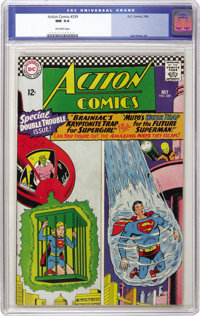 Action Comics #339 (DC, 1966) CGC NM 9.4 Off-white pages. Curt Swan drew this issue's cover. Overstreet 2006 NM- 9.2 val...