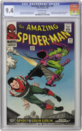 Silver Age (1956-1969):Superhero, The Amazing Spider-Man #39 (Marvel, 1966) CGC NM 9.4 Off-whitepages. The Guide price has been left in the dust when you're ...