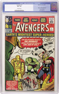 Silver Age (1956-1969):Superhero, The Avengers #1 (Marvel, 1963) CGC VF+ 8.5 Off-white pages. A must for the serious Silver Age collector is a nice copy of th...