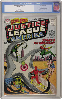 The Brave and the Bold #28 Justice League of America (DC, 1960) CGC FN/VF 7.0 Cream pages. It's been a couple of years s...