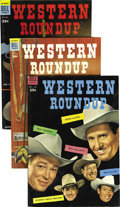 Silver Age (1956-1969):Humor, Dell Giant Comics Western Roundup Group (Dell, 1954-58). Issues #6 (VF), #7 (VF+), #8 (VF/NM), #9 (NM), #12 (NM-), #13 (two ... (Total: 17 Comic Books)