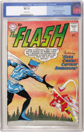Silver Age (1956-1969):Superhero, The Flash #117 (DC, 1960) CGC NM 9.4 Off-white pages. It's theorigin and first appearance of Captain Boomerang, a regular i...