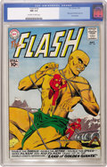 Silver Age (1956-1969):Superhero, The Flash #120 (DC, 1961) CGC NM 9.4 Off-white to white pages. KidFlash learns the Flash's secret identity in this issue, a...