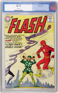 Silver Age (1956-1969):Superhero, The Flash #138 Western Penn pedigree (DC, 1963) CGC NM+ 9.6 White pages. If you want to see what a perfect spine looks like,...