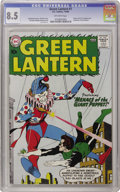 Silver Age (1956-1969):Superhero, Green Lantern #1 (DC, 1960) CGC VF+ 8.5 Off-white pages. As many acollector have discovered, it's one thing to find Silver ...