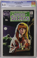 Bronze Age (1970-1979):Horror, House of Secrets #92 (DC, 1971) CGC VF+ 8.5 Off-white to whitepages. As Bronze Age keys get more and more expensive, the ra...