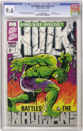 Silver Age (1956-1969):Superhero, The Incredible Hulk Annual #1 (Marvel, 1968) CGC NM+ 9.6 Off-whiteto white pages. Jim Steranko's cover is what everyone rem...
