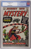 Silver Age (1956-1969):Superhero, Journey Into Mystery #83 (Marvel, 1962) CGC FN/VF 7.0 Off-whitepages. Here's a nice copy of this key issue. While it has so...