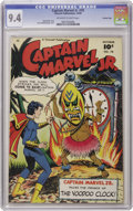 Golden Age (1938-1955):Superhero, Captain Marvel Jr. #78 Crowley Copy pedigree (Fawcett, 1949) CGC NM 9.4 Off-white to white pages. It's Junior vs. voodoo in ...