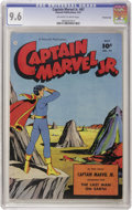 Golden Age (1938-1955):Superhero, Captain Marvel Jr. #97 Crowley Copy pedigree (Fawcett, 1951) CGC NM+ 9.6 Off-white to white pages. A stunning example of one...