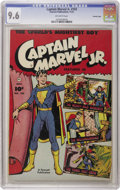 Golden Age (1938-1955):Superhero, Captain Marvel Jr. #103 Crowley Copy pedigree (Fawcett, 1951) CGC NM+ 9.6 Off-white pages. This is the highest graded copy c...