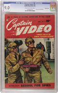 Golden Age (1938-1955):Science Fiction, Captain Video #4 Crowley Copy pedigree (Fawcett, 1951) CGC VF/NM9.0 Cream to off-white pages. Who would have thought that a...