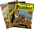 "Golden Age (1938-1955):Classics Illustrated, Classic Comics Group (Gilberton, 1943-54) Condition: Average VF-. Included here are #1 (""The Three Musketeers""; HRN 15; FN-)... (Total: 12 Comic Books)"