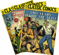 "Golden Age (1938-1955):Classics Illustrated, Classic Comics #24-32 Original Editions Group (Gilberton, 1945-46) Condition: Average FN+. This group includes #24 (""A Conne... (Total: 10 Comic Books)"