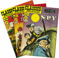 Golden Age (1938-1955):Classics Illustrated, Classics Illustrated Group (Gilberton, 1948-62) Condition: FN+. Allissues here except one are Original Editions. Included h... (Total:21 Comic Books)