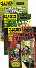 Golden Age (1938-1955):Classics Illustrated, Classics Illustrated Box Lot (Gilberton, 1950-62) Condition:Average VF-. All issues here are Original Editions unless other...