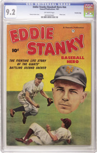 Eddie Stanky #nn Crowley Copy pedigree (Fawcett, 1951) CGC NM- 9.2 Off-white pages. If you've had trouble finding this o...