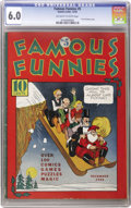 Platinum Age (1897-1937):Miscellaneous, Famous Funnies #5 (Eastern Color, 1934) CGC FN 6.0 Off-white towhite pages. We find the condition of this book truly amazin...