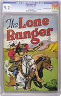 """Golden Age (1938-1955):Western, Four Color #136 Lone Ranger - Davis Crippen (""""D"""" Copy) pedigree (Dell, 1947) CGC NM- 9.2 Off-white to white pages. This is t..."""
