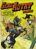 Golden Age (1938-1955):Western, Gene Autry Comics #1 (Fawcett, 1941) Condition: VG+. The mostvaluable Western comic book according to Overstreet, this book...