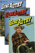 Golden Age (1938-1955):Western, Gene Autry Comics Group (Dell, 1946-48) Condition: Average VF/NM. Asterling NM+ copy of #3 highlights this group, which als... (Total:10 Comic Books)