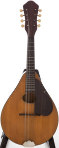 Musical Instruments:Banjos, Mandolins, & Ukes, 1930 Martin Model 15 Natural Mandolin, #14762....