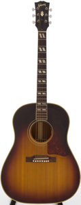 Musical Instruments:Acoustic Guitars, 1960 Gibson SJ Sunburst Acoustic Guitar, Serial # U35120....