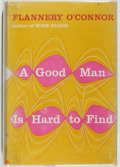 Books:Fiction, Flannery O'Connor. A Good Man is Hard to Find and OtherStories. New York: Harcourt, Brace and Company, 1955. First ...