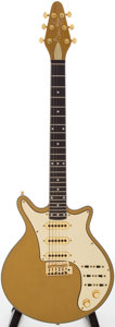 Musical Instruments:Electric Guitars, Circa 2004 Burns of London Brian May Signature Gold Solid BodyElectric Guitar, Serial # BHM016G...